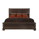 Bernhardt Pacific Canyon Queen Sleigh Bed in Coffee Bean 349-H34