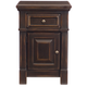 Bernhardt Pacific Canyon Bedside Chest in Coffee Bean 349-212