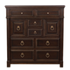 Bernhardt Pacific Canyon 8-Drawer Tall Chest in Coffee Bean 349-118