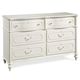 Universal Smartstuff Bellamy Dresser in White 330A002