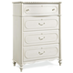 Universal Smartstuff Bellamy Drawer Chest in White 330A010