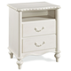 Universal Smartstuff Bellamy Nightstand in White 330A080