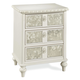 Universal Smartstuff Bellamy Vintage Nightstand in White 330A081