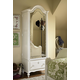 Universal Smartstuff Bellamy Vintage Armoire in White 330A014