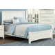 All-American Bronco Queen Mansion Bed in White