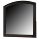 Liberty Furniture Avalon Arch Top Mirror in Dark Truffle 505-BR51