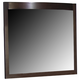 Liberty Furniture Avalon Lighted Mirror in Dark Truffle 505-BR52