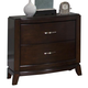 Liberty Furniture Avalon Nightstand in Dark Truffle 505-BR61