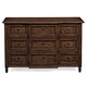 Bernhardt Vestige 3-Drawer Small Dresser in Allspice 345-032 CLEARANCE