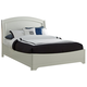 Liberty Furniture Avalon King Platform Bed in White Truffle 205-BR-KPL