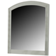 Liberty Furniture Avalon Arch Top Mirror in White Truffle 205-BR51