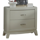 Liberty Furniture Avalon Nightstand in White Truffle 205-BR61