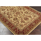 Surya Ancient Treasures Handmade Plush Pile Rug in Gold A-111