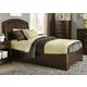Liberty Furniture Avalon Youth Twin Platform Bed in Dark Truffle 505-YBR-TPL