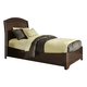 Liberty Furniture Avalon Youth Full Platform Bed in Dark Truffle 505-YBR-FPL