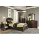 Liberty Furniture Avalon Youth 4 Piece Platform Bedroom Set in Dark Truffle