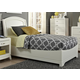 Liberty Furniture Avalon Youth Full Platform Bed in White Truffle