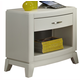Liberty Furniture Avalon Nightstand in White Truffle 205-BR60
