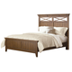 Liberty Furniture Hearthstone King Panel Bed in Rustic Oak 382-KPB