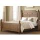 Liberty Furniture Hearthstone King Poster Bed in Rustic Oak 382KPB