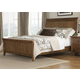 Liberty Furniture Hearthstone Queen Sleigh Bed in Rustic Oak 382QSB