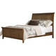 Liberty Furniture Hearthstone King Sleigh Bed in Rustic Oak 382KSB