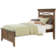 Liberty Furniture Hearthstone Youth Full Panel Bed in Rustic Oak 382-YFPB