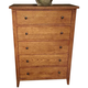 Liberty Furniture Hearthstone Youth 5 Drawer Chest in Rustic Oak 382-BR40