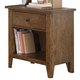 Liberty Furniture Hearthstone Youth Nightstand in Rustic Oak 382-BR60