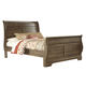 Allymore Queen Sleigh Bed in Brownish Gray B216-65/63/86