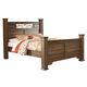 Allymore King Poster Bed in Brownish Gray B216-87/71/84/99