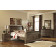 Allymore Sleigh Bedroom Set in Brownish Gray