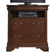Liberty Furniture Carriage Court Media Chest in Mahogany 709-BR45