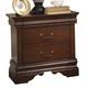 Liberty Furniture Carriage Court Nightstand in Mahogany 709-BR61