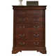 Liberty Furniture Carriage Court Youth Chest in Mahogany 709-BR40