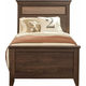 Standard Furniture Weatherly Twin Panel Bed in 2-Tone 68150-68153