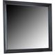 Liberty Furniture Carrington II Mirror in Black 917-BR51