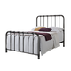 Standard Furniture Tristen Full Metal Bed in Antique Pewter 87500-87511