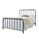 Standard Furniture Tristen Queen Metal Bed in Antique Pewter 87500-87521