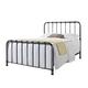 Standard Furniture Tristen Queen Metal Bed in Antique Pewter 87500-87521