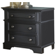 Liberty Furniture Carrington II Nightstand in Black 917-BR61