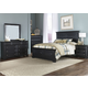 Liberty Furniture Carrington II 4 Piece Panel Bedroom Set in Black