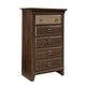 Standard Furniture Weatherly 5-Drawer Chest in 2-Tone 68150-68155
