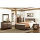 Standard Furniture Weatherly Panel Bedroom Set in 2-Tone