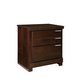 Standard Furniture Strata 2-Drawer Nightstand in Warm Brown 68450-68457