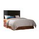 Standard Furniture Infinity King Panel Headboard Only in Ebony Black 68716