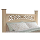 Standard Furniture Torina King Poster Headboard in Light Cream 68850-68886