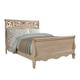 Standard Furniture Torina Queen Sleigh Bed in Light Cream 68850-68852Q