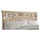 Standard Furniture Torina Queen Sleigh Headboard in Light Cream 68850-68852