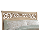 Standard Furniture Torina King Sleigh Headboard in Light Cream 68850-68866